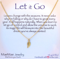 Let It Go Necklace