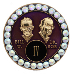 BLING BILL & BOB PURPLE