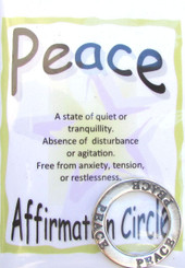 Affirmation Jewelry Circle (Choose your word!)