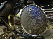 """Titanium EVO Points Cover - Anodized - Hand Made in the USA - """"Splatter"""""""