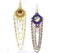 Willow Earrings Beading Pattern