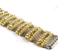 Nakita Bracelet Beading Kit Silver & Gold