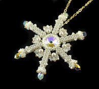 Winter Frost Pendant Beading Kit
