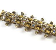 Cheetah Bracelet Beading Kit Silver & Gold