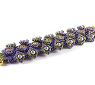 Katnip Bracelet Beading Kit Purple & Green *PreOrder
