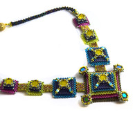 Pixels Necklace Beading Kit *Bright Colors