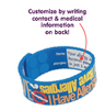Customize by writing contact & medical info on back
