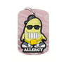 soy allergy dog tag
