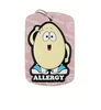 egg allergy dog tag