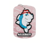 fish allergy dog tag