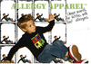 Kids Food allergy alert clothing