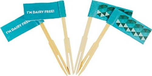 food allergy cupcake flags