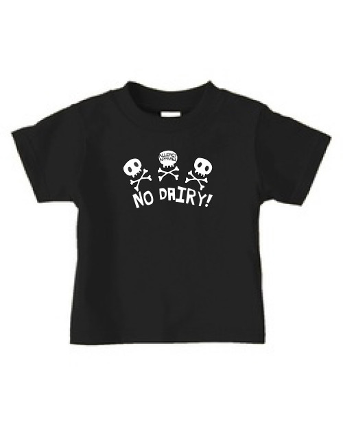 no dairy short sleeve allergy tee