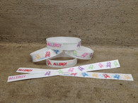 Allergy Apparel ID Wristbands