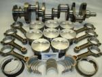 "383 Stroker INTERNAL BALANCED Rotating Assembly 5.7"" Rods, Hyperutectic Pistons Flat Top, 2 Piece Rear Main Seal"