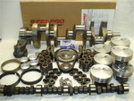 383 MASTER ENGINE KIT WITH 1PC REAR MAIN SEAL HYDRAULIC ROLLER CAMSHAFT
