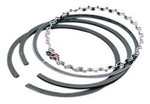 """Mahle Ductile Iron Plasma Moly Rings 4.040"""" + .005""""  Bore File Fit LOW TENSION"""