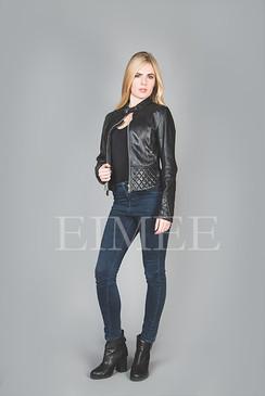 Ladies Leather Jacket Box CHISSA