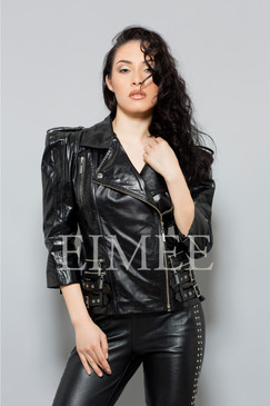 Ladies Leather Jacket LISTA