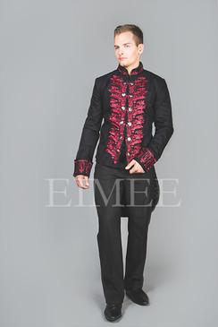 Mens Tailcoat Red KENTZ