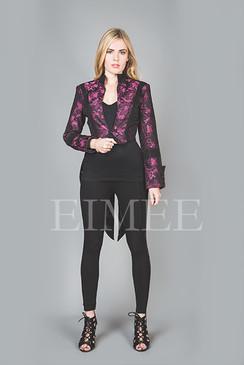 Ladies Tailcoat Formal coat top Victorian Clothing Pink VIVIAN