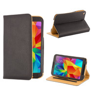 "Book PU Leather Case Cover for Samsung Galaxy Tab S 8.4"" - Black"