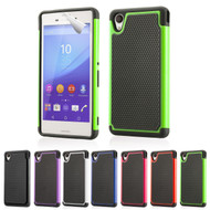 32nd dual-layer shockproof Sony Xperia M4 Aqua Case in a range of colours.