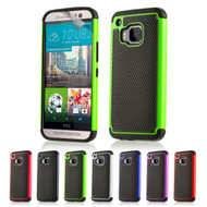 32nd dual-layer shockproof HTC One M9 Case in a range of great colours.