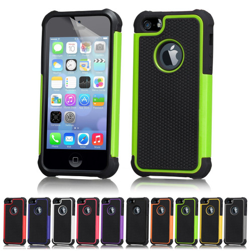 32nd dual-layer shockproof Apple iPhone 5 Case in a range of great colours.