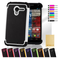 32nd dual-layer shockproof Motorola Moto X Play Case in a range of fantastic colours.