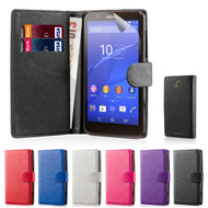 32nd synthetic leather book wallet Sony Xperia E4G Case.
