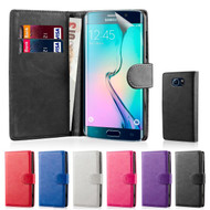 32nd faux leather book wallet Samsung Galaxy S6 Edge Plus Case in a great range of colours.