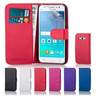32nd faux leather book wallet Samsung Galaxy J5 (2015) Case in a great range of colours.