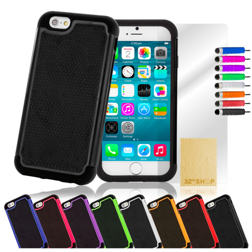 32nd dual-layer shockproof Apple iPhone 6 Plus 5.5 inch Case in a great range of colours.