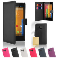 32nd synthetic leather book wallet Motorola Moto G 2013 Case in a great range of colours.