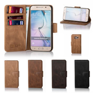 32nd premium Italian leather book wallet Samsung Galaxy S6 Edge Case.