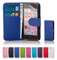 32nd synthetic leather book wallet Apple iPhone 5C Case in a range of stylish colours.