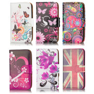 32nd colourful synthetic leather design book wallet Samsung Galaxy Trend 2 Lite Case.
