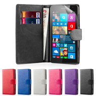 32nd faux leather book wallet Microsoft Lumia 550 Case in a range of fantastic colours.