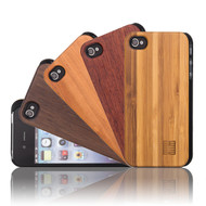 32nd wooden back Apple iPhone 4 Case.
