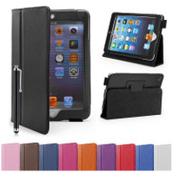 Apple iPad Mini Leather Book Stand Case
