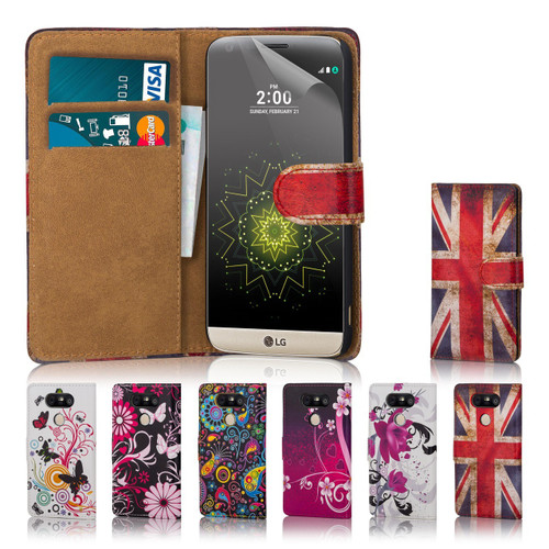 32nd colourful synthetic leather design book wallet LG G5 Case.