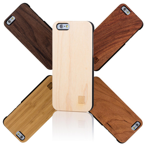 32nd wooden back Apple iPhone 6 Plus 5.5 inch Case.