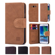 32nd premium Italian leather book wallet Samsung Galaxy A5 (2016) Case.