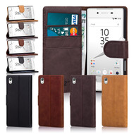 32nd Shop premium leather Sony Xperia Z5 case in a range of 4 natural colours, Hand made from elegant Italian leather this case features a stand for easy viewing on the go.