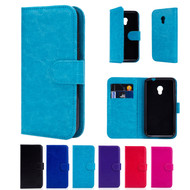 "32nd synthetic leather book wallet Alcatel Pixi 4 4.0"" Case in a range of fantastic colours."