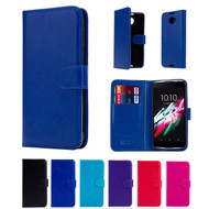 32nd synthetic leather book wallet Alcatel Idol 4 Case in a range of fantastic colours.