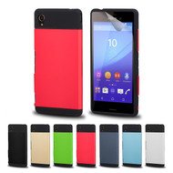 32nd slim armour shockproof Sony Xperia M4 Aqua Case in a range of stylish colours.