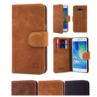 32nd premium Italian leather book wallet Samsung Galaxy A5 (2015) Case.