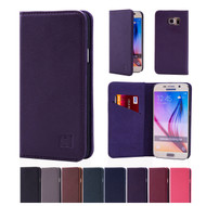 32nd real leather classic wallet Samsung Galaxy S6 Case in a range of colours.